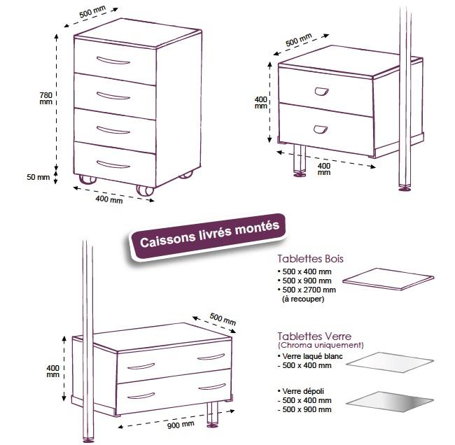 caisson pour dressing id es de. Black Bedroom Furniture Sets. Home Design Ideas