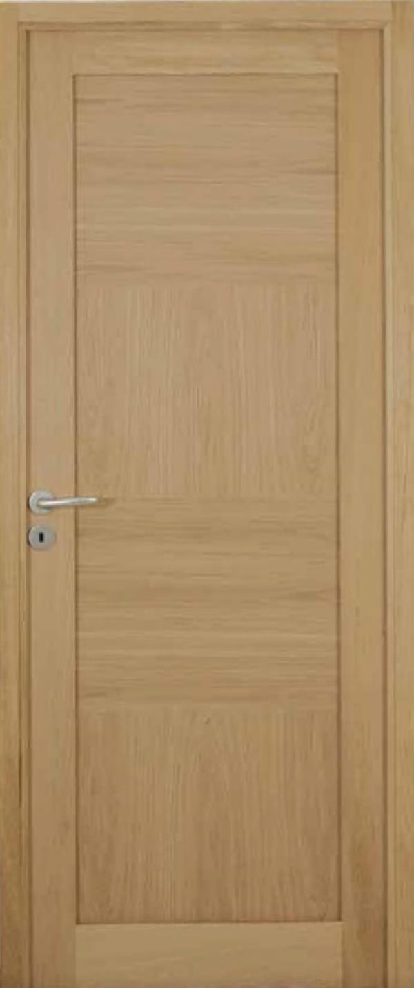 Porte lm34 finition chene naturel hue socoda n goces for Porte en chene