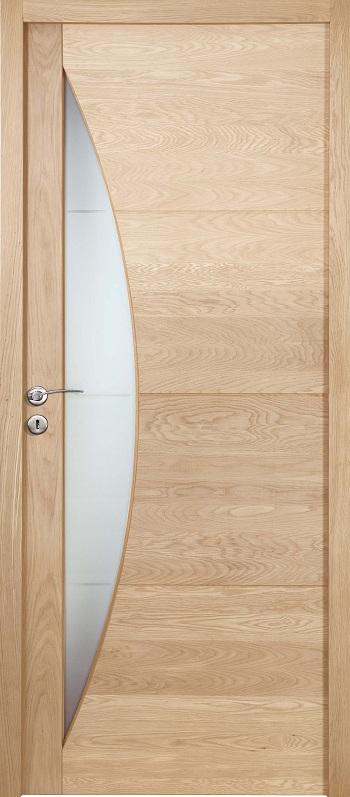 Porte proboporte bois massif ch ne blanchi mod le guerande for Planche de bois chene blanchi