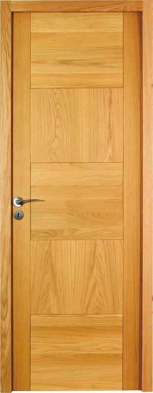 Porte proboporte bois massif ch ne verni mat mod le for Porte journaux en bois