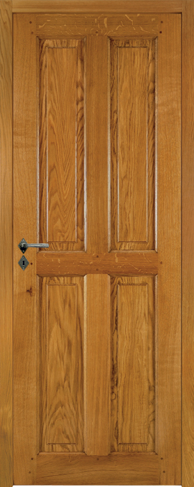 Porte proboporte ch ne moyen satin mod le broceliande for Porte en chene