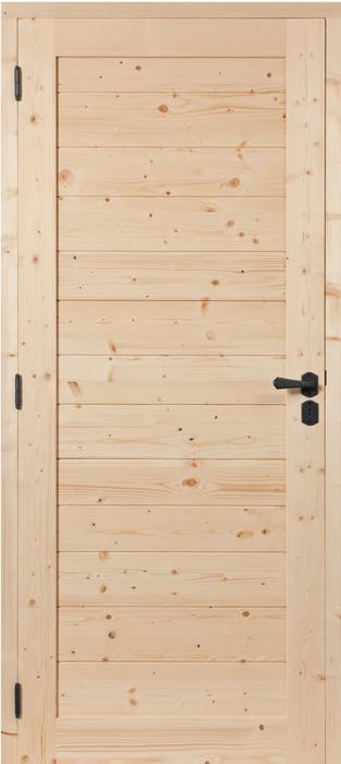 porte proboporte sapin verni naturel mod le izoard hue socoda n goces bois panneaux. Black Bedroom Furniture Sets. Home Design Ideas