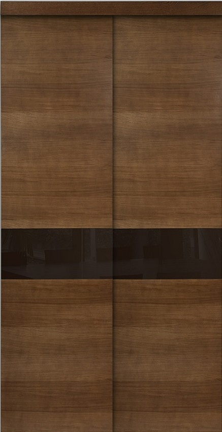 fa ade placard proboporte en ch ne fum mod le fancy hue socoda n goces bois panneaux. Black Bedroom Furniture Sets. Home Design Ideas