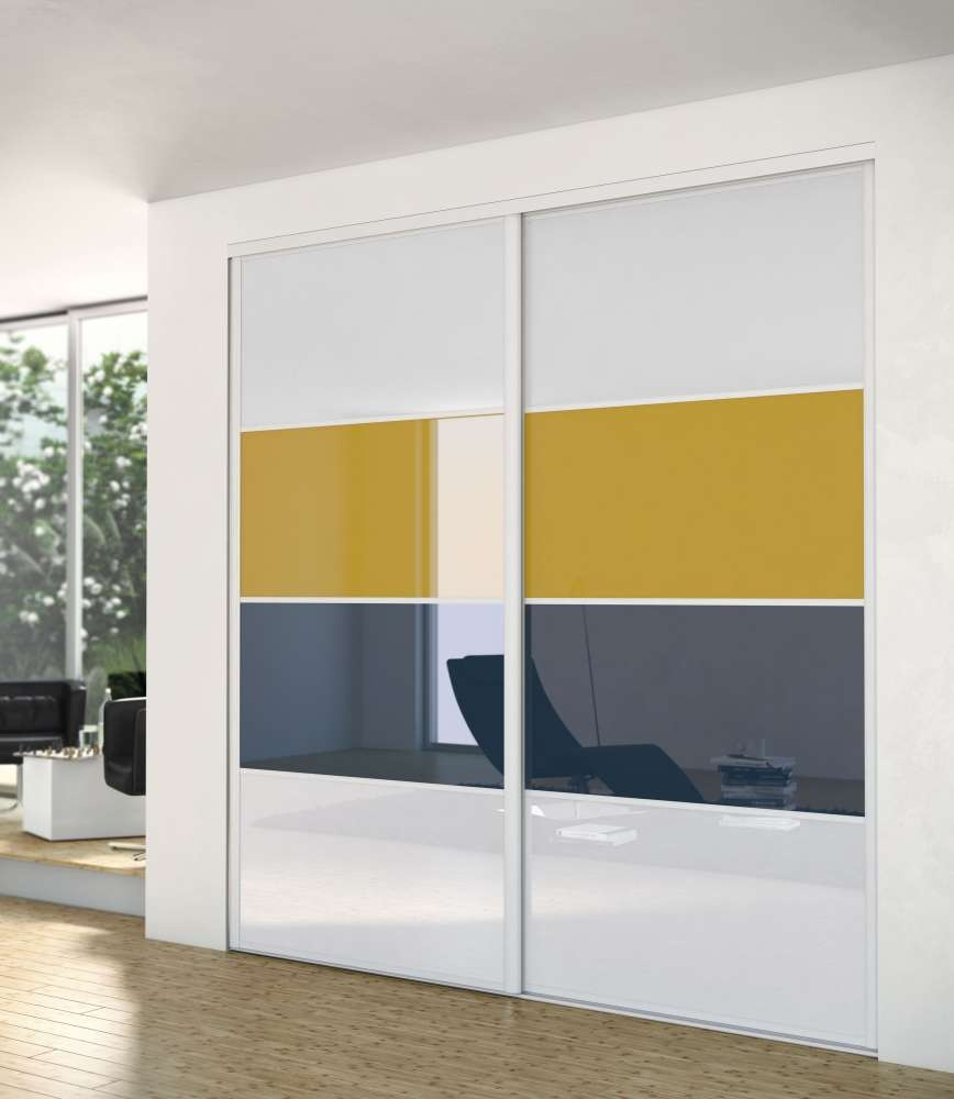 fa ade de placard gamme harmonie montant aluminium hue socoda n goces bois panneaux. Black Bedroom Furniture Sets. Home Design Ideas